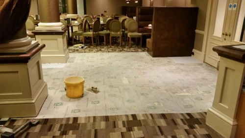Hotel Carpet Repair